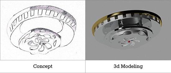 3d modellering fra skitse til 3d model