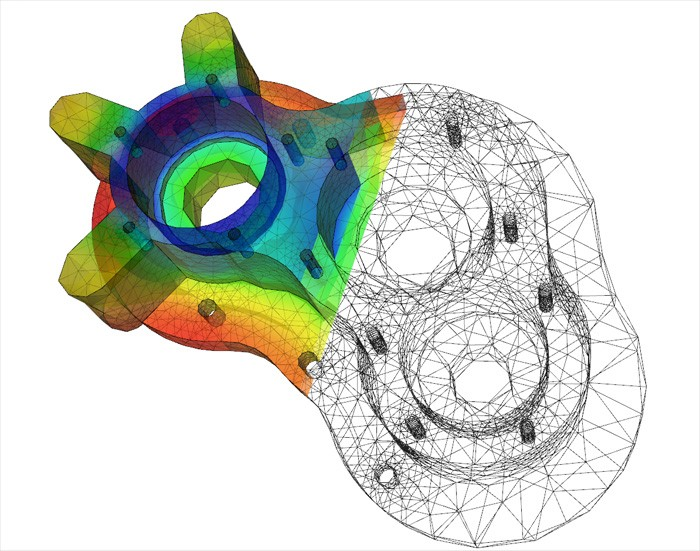 CAD model - computer simulering