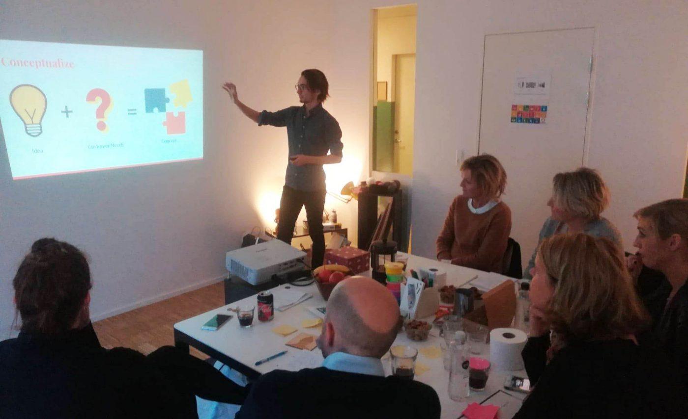 Event dag med Nordea - teambuilding med fokus på produktudvikling og service
