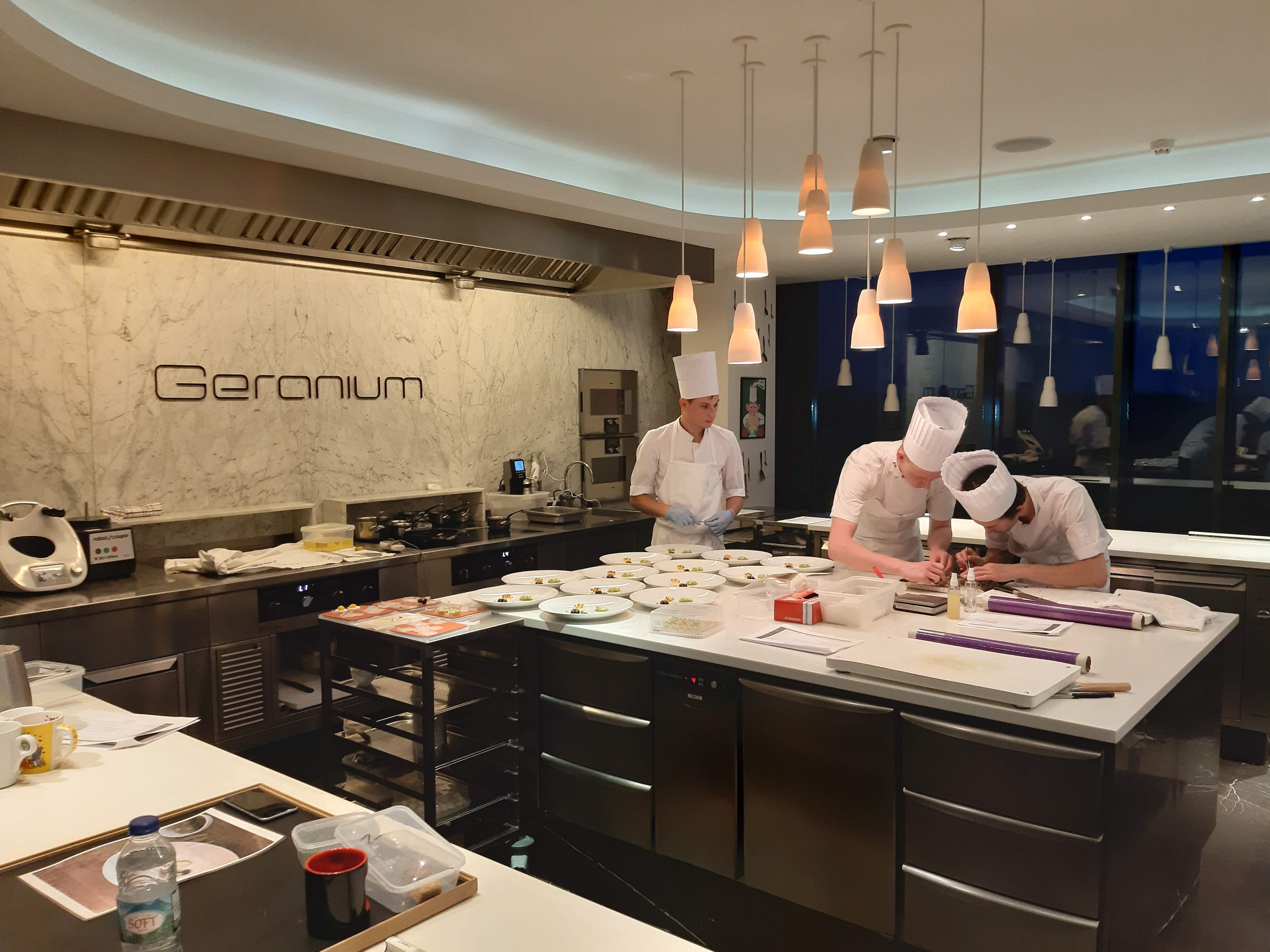 Geranium udvikling af køkkenudstyr